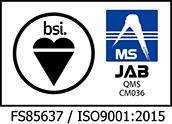 FS85637 / ISO9001:2015